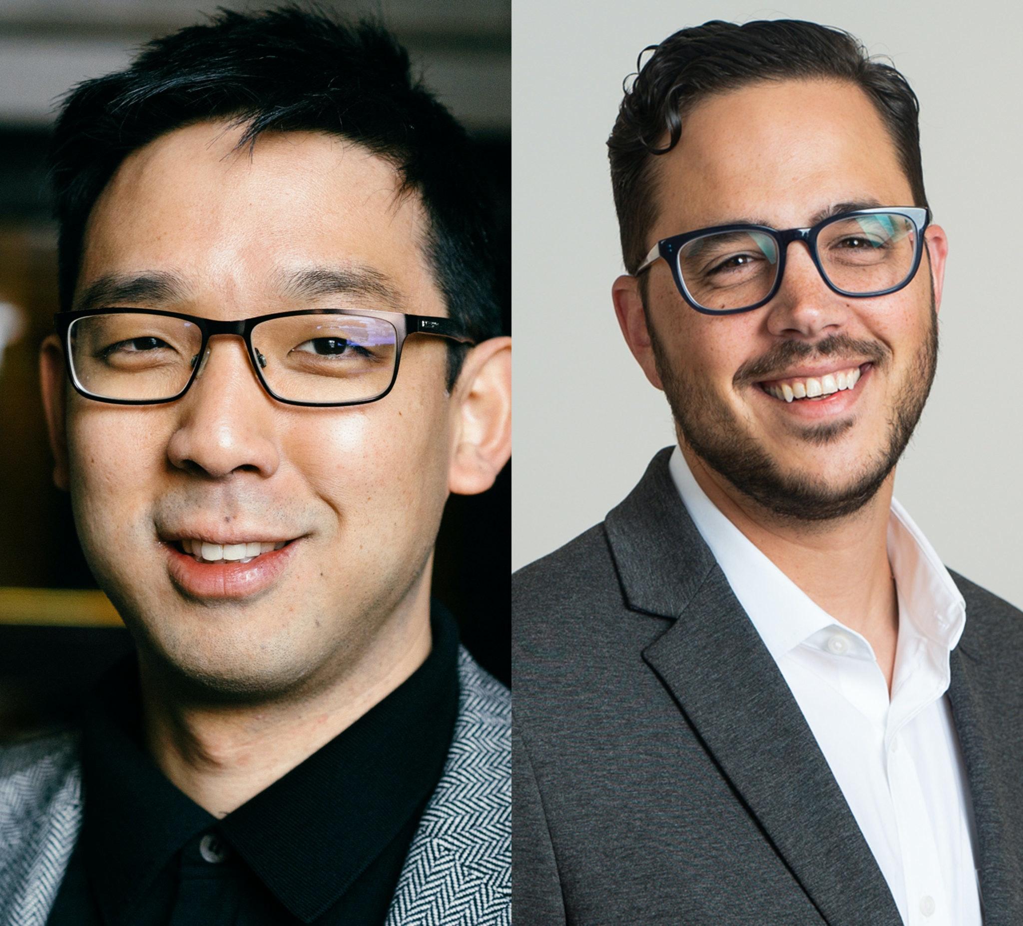 Robert Kim+TJ Abood MTP Headshots